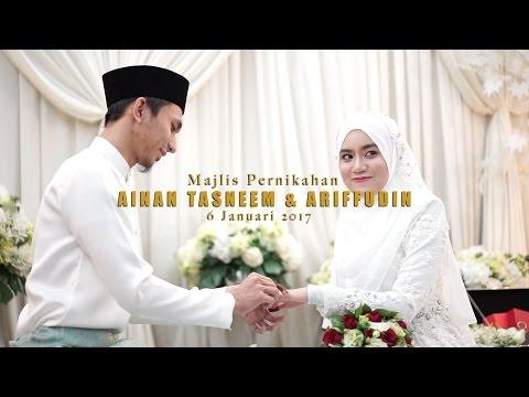 (OFFICIAL VIDEO) Majlis Pernikahan Ainan Tasneem & Ariffudin by Kaio Studio