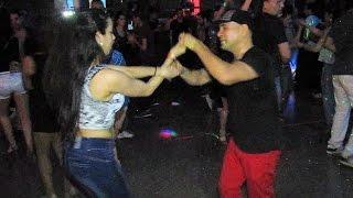 Comadreja Salsa Congress 2014 ~ Social ~ Evelin Bustos & Francisco Vázquez