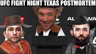 FIGHT NIGHT TEXAS POSTMORTEM!!!