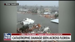 'Scary in a Lot of Ways': Mike Huckabee Rides Out Hurricane Michael at Florida Home