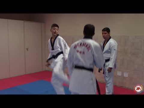 Treinamento Taekwondo