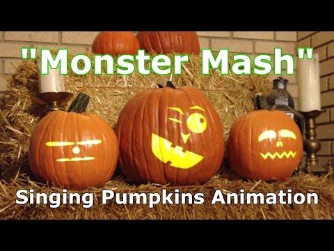 Monster Mash - Singing Pumpkins Animation