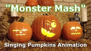 Monster Mash - Singing Pumpkins Animation
