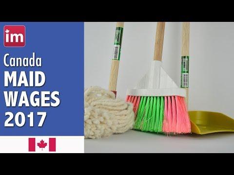 Maid Salary in Canada - Jobs in Canada 2017