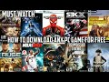 how to download any pc games for free