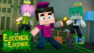 Minecraft: PADRINHOS MÁGICOS! (Esconde-Esconde)
