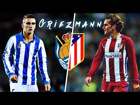 Griezmann in Real Sociedad vs Griezmann in Atlético Madrid