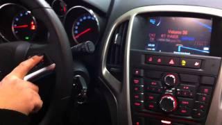 Opel Astra J 2010 Gps Multimedia system
