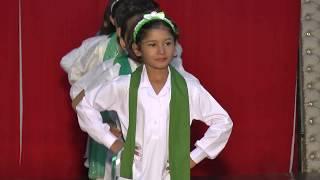Main Pakistan hun tablo by students of The Spirit School Khanewal