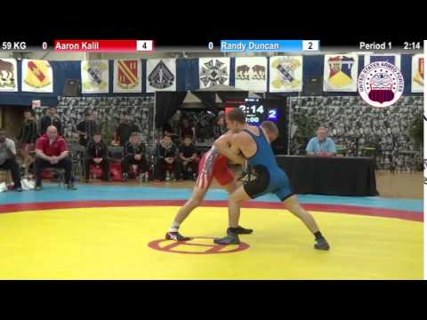 Dual #2 - GR 59 KG - Aaron Kalil (USMC) vs. Randy Duncan (USAF)