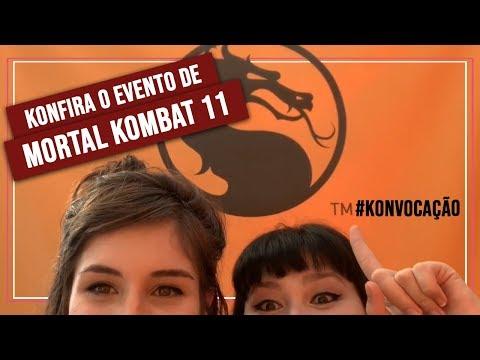 BAGUNCINHA NO EVENTO DE MORTAL KOMBAT 11! thumbnail