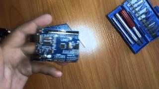 Arduino UNO + W5100 розпакування. Дилетант робить розумні будинок
