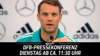 ReLIVE 🔴   DFB-Pressekonferenz mit Manuel Neuer   19.06.   WM 2018   SPORT1