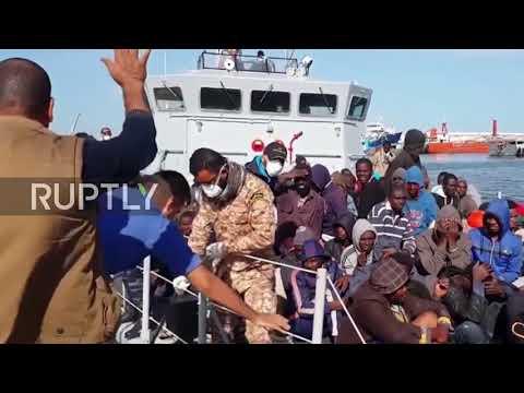 Libya: 297 migrants returned to Tripoli after Med. crossing attempt