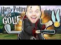 HARRY POTTER PLAYS GOLF!! - Golf It!