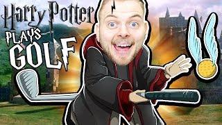 HARRY POTTER PLAYS GOLF!! - Golf It!