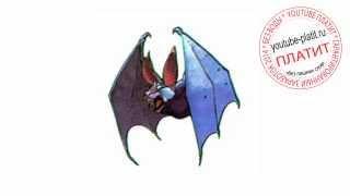 Как поэтапно нарисовать летучую мышь вампира(Как нарисовать картинку поэтапно карандашом за короткий промежуток времени. Видео рассказывает о том,..., 2014-07-07T06:20:03.000Z)
