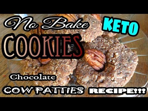 keto-no-bake-chocolate-peanut-butter-cookies-in-5-minutes-|-cow-patties!-low-carb-sugar-free