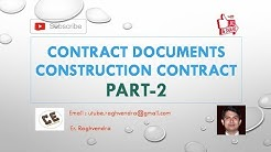 Construction Contract | Contract Documents | Part 2 | Er. Raghvendra