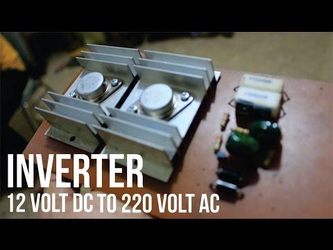 Cara Membuat Rangkaian Inverter Dc 12v To Ac 220v Tutorial Video