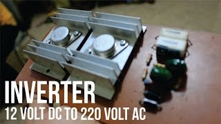 Cara Membuat Rangkaian Inverter DC 12V to AC 220V - Tutorial Video