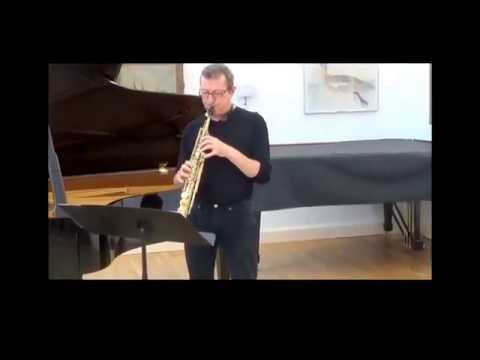 Cries of the Stentor (by Nigel Wood) - for soprano sax & piano