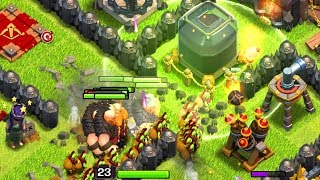 GOBLIN KNIFE! TH9 Dark Elixir Time | Clash of Clans