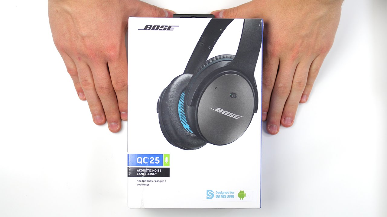 casque audio bose qc25 d ballage et impressions youtube. Black Bedroom Furniture Sets. Home Design Ideas