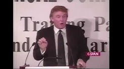 Donald Trump At The Rainbow/Push Coalition Wall Street Project Conference 1999