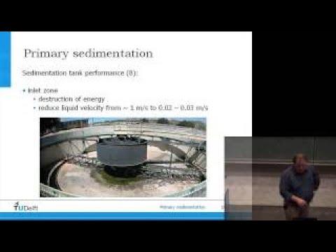 1 25 Physical processes Sedimentation primaryvesvessecondary