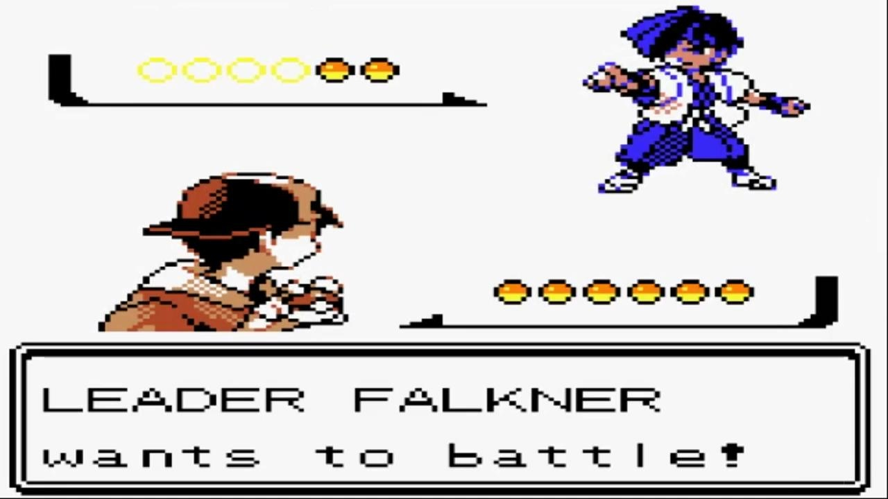 Pokémon Gold and Silver - Gym Leader Falkner and Get TM31 ...
