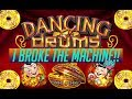8 80 MAX BET I BROKE THE MACHINE Dancing Drums Bonus mp3