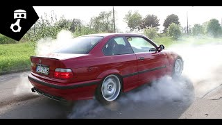 BMW 328i бE36ашенная, модификации и дым #2; zhmuraTV