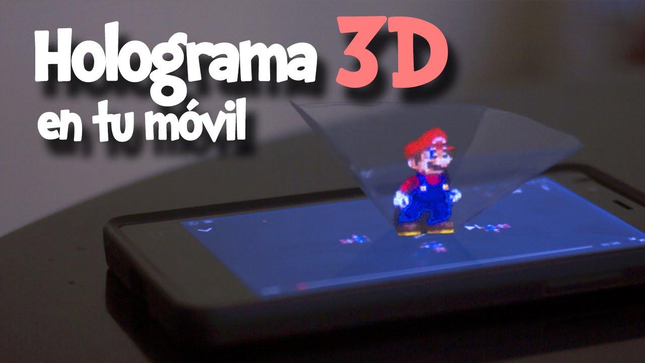 C mo hacer un holograma 3d en tu m vil o celular no te for Hacer tu casa en 3d