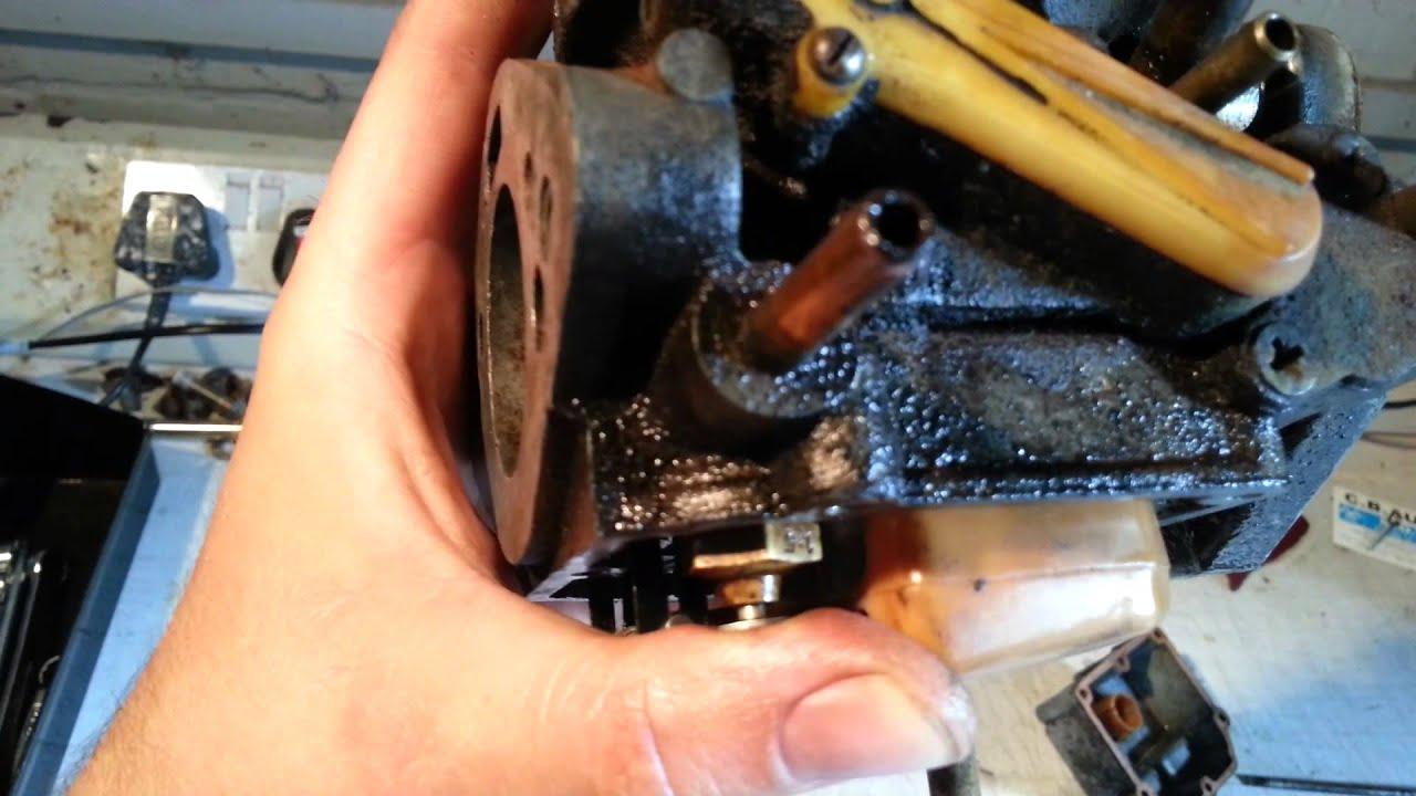 Stromberg carburettor fuel leak repair