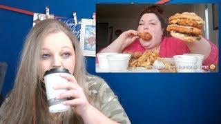 Foodie Beauty-KFC Mukbang Extravaganza Reaction
