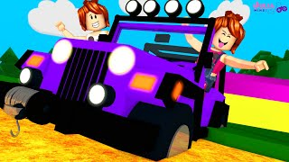 Roblox - SÓ PODE USAR JEEP NO OBBY! (The Jeep Obby Challenge)