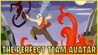 Four Legendary Masters: The Perfect Team Avatar