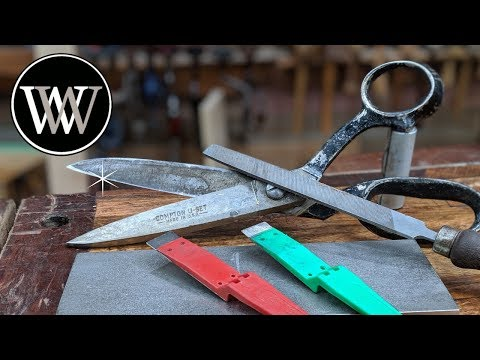 How To Sharpen Scissors Like A Pro
