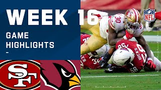 49ers vs. Cardinals Week 16 Highlights | NFL 2020