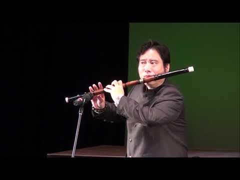 Li Zengguang Bass Dizi Solo: River Waters李增光低音笛獨奏:《江河水》