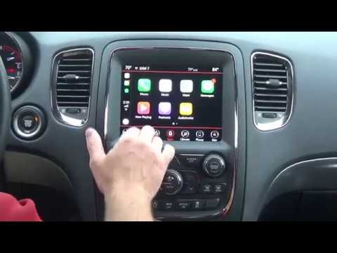 2014 2018 Dodge Durango Factory Apple Carplay Android Auto