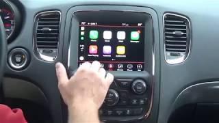 2014-2018 Dodge Durango Factory Apple CarPlay/Android Auto Radio Upgrade - Easy Plug & Play Install!