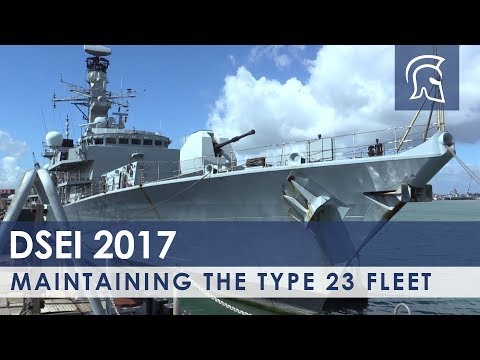 Maintaining the Type 23 Fleet