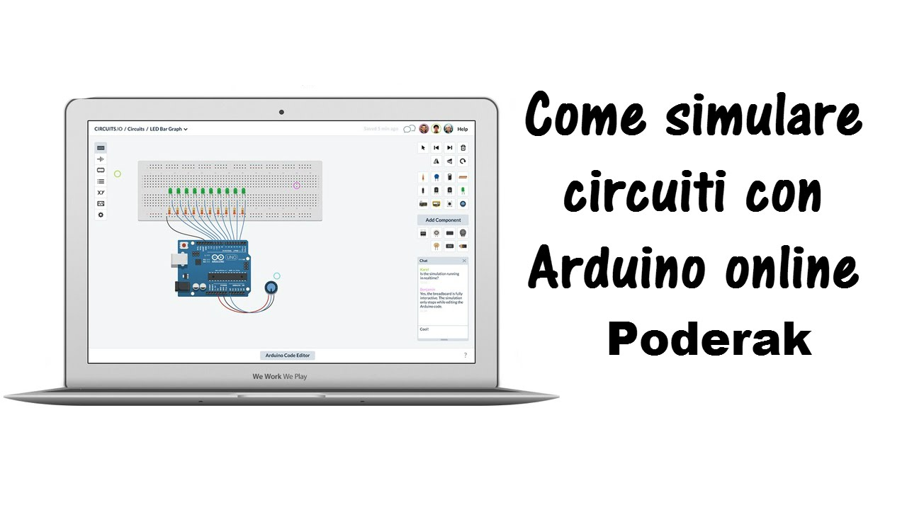 Circuito Arduino : Come simulare un circuito con arduino online tutorial youtube