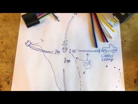 30a automotive relay wiring