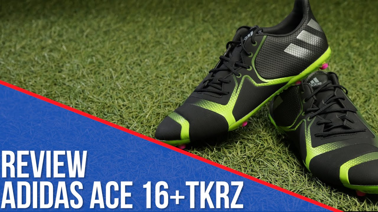 granizo anillo constante  Review adidas ACE 16+ TKRZ - YouTube
