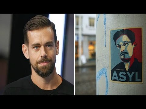 Twitter CEO joinsEdward Snowden's mercycampaign
