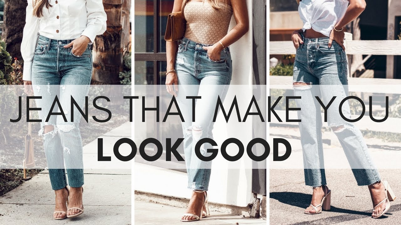 7ddc54f7016 How To Find The Best Jeans For Your Body - YouTube