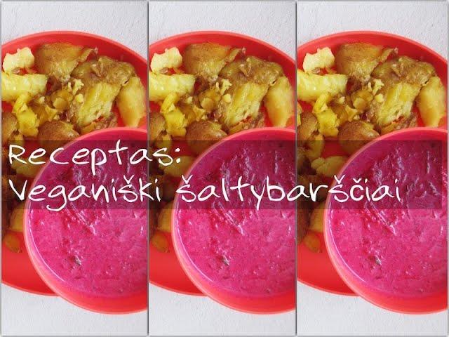 #receptas - veganiški šaltybarščiai / Gaminame su Tupperware / Tupperware Sapnas / Vegan Pipiras